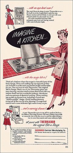 Thermador Appliance Ad, 1952