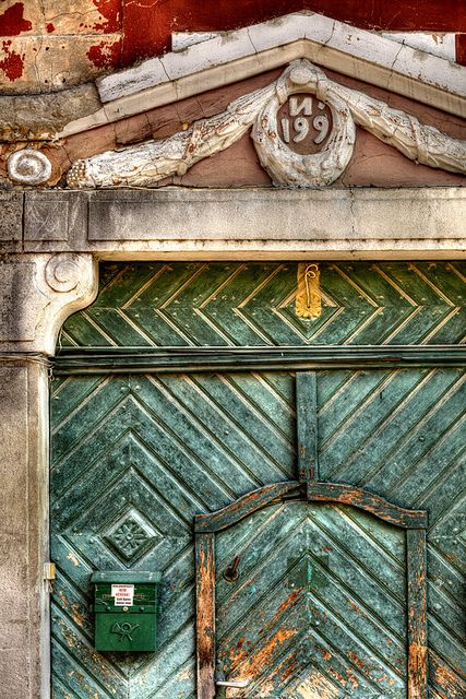 . #teal #door