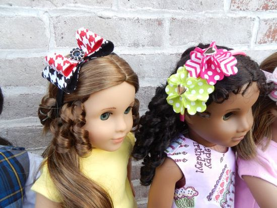 American Girl Doll Handmade Headband with by PartywithFelt on Etsy, $7.50