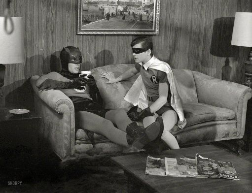 batman & friend