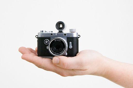 love vintage inspired tech gear like this fun digital camera