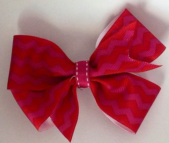 Handmade bow by CinderellaBowtique on Etsy, $3.00