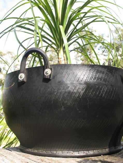 Recycle : Tire Pot from UBeauty
