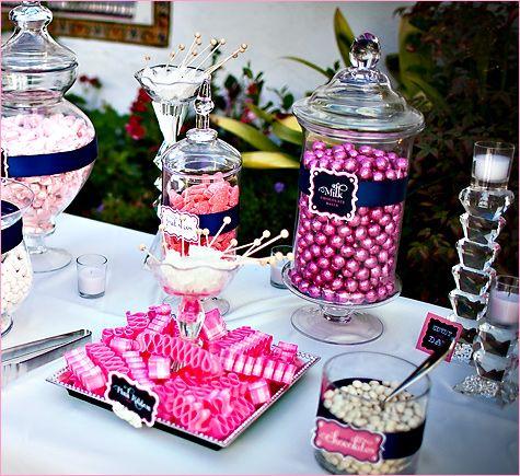 Candy Buffet Ideas