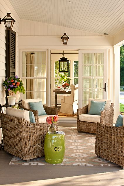 So love this porch...