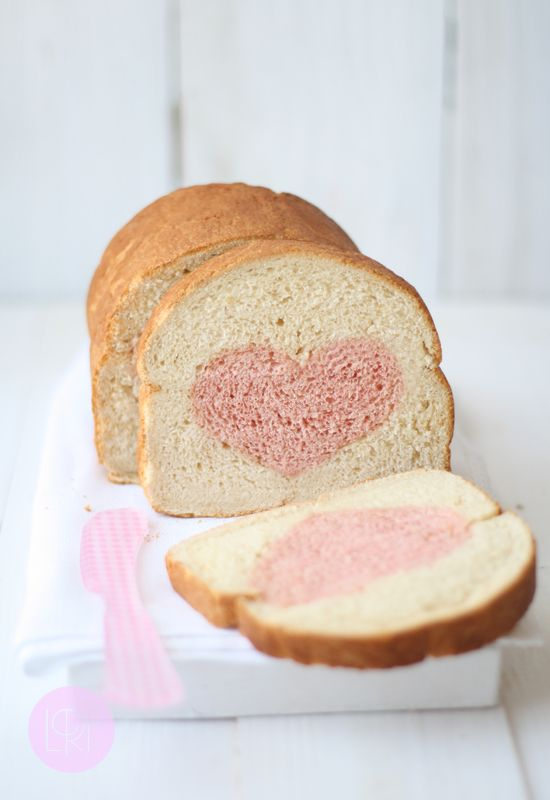 Valentines Bread Loaf