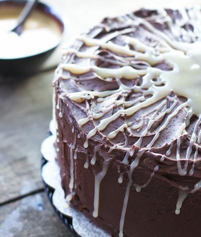 Salted Caramel Chocolate Cake - FoodBabbles.com