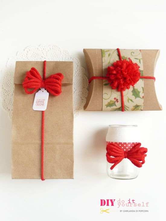 Ghirlanda di Popcorn: DIY: handmade bow #2