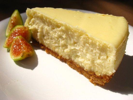 Goat cheese cake.