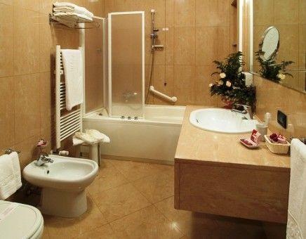 Modern simple bathroom interior design