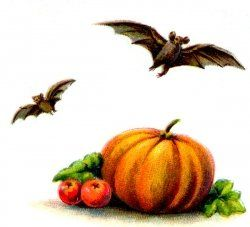 Vintage Halloween Clipart, Free to Download