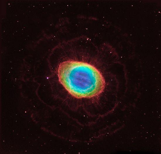 Hubble reveals the Ring Nebula's true shape.