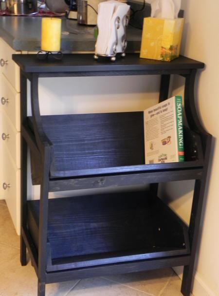 DIY Furniture : DIY Console Bookshelf