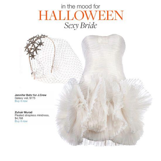 #Halloween costume concept: Sexy bride