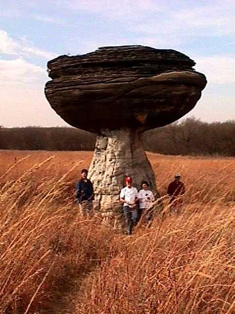 Mushroom Rock Kansas