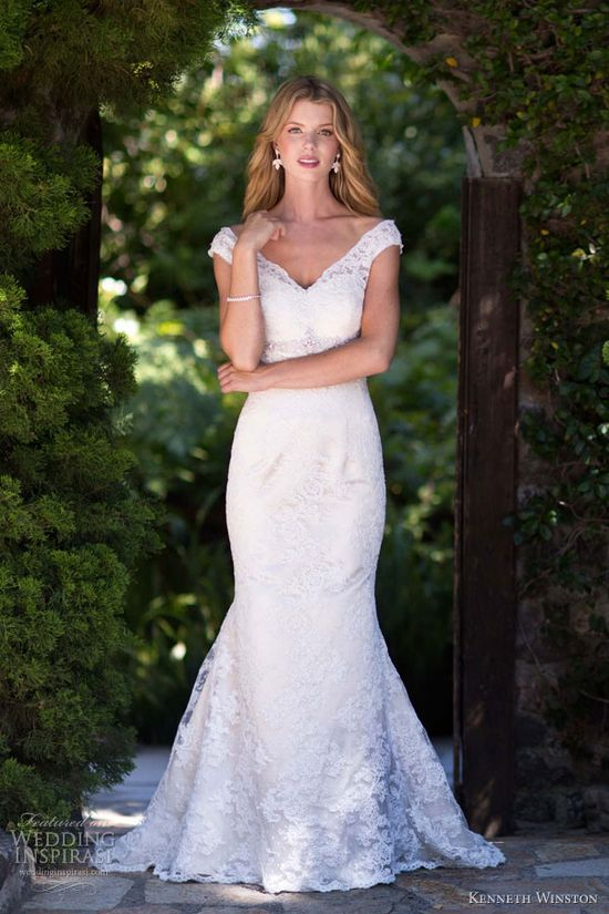 kenneth winston bridal spring 2013 wedding dress style 1504