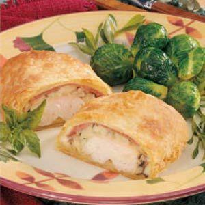 Chicken Cordon Bleu Calzone