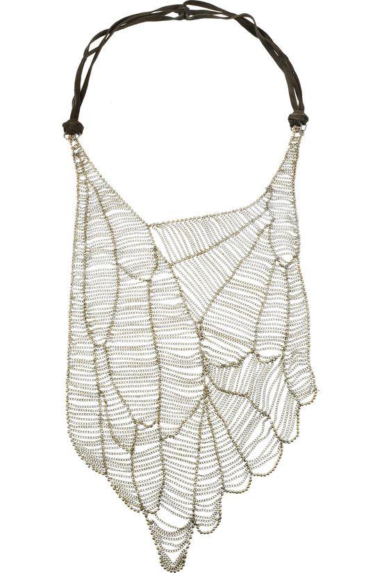 // Antik Batik necklace.