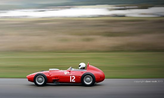 Tony Smith's 1960 Ferrari 246 Dino No.12 - 2013 Goodwood Revival