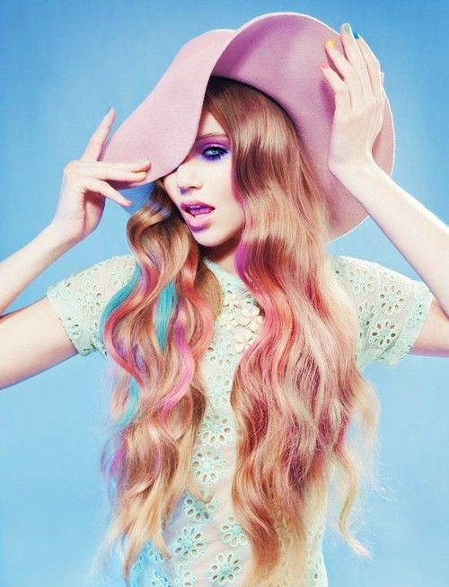 #coloredhair #hair #editorial #photography #campaign