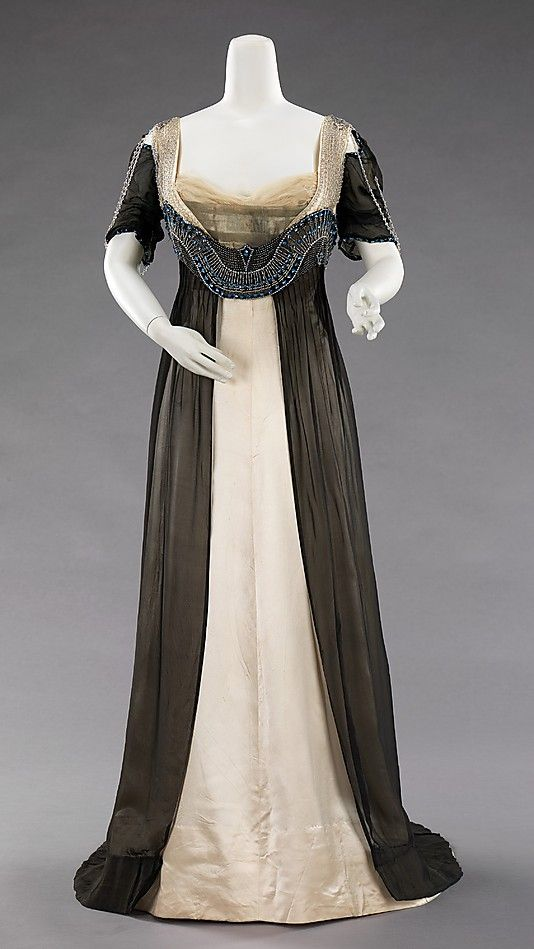 Evening Dress - House of Worth  French, 1909-11