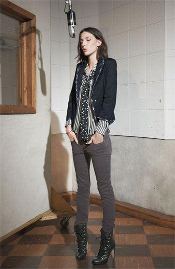 Paige 'Skyline' Skinny Jeans (Storm)