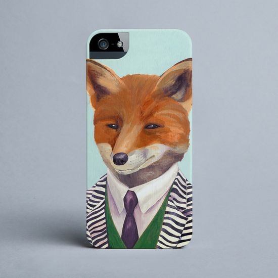 Animal Crew - Fox - iPhone cover