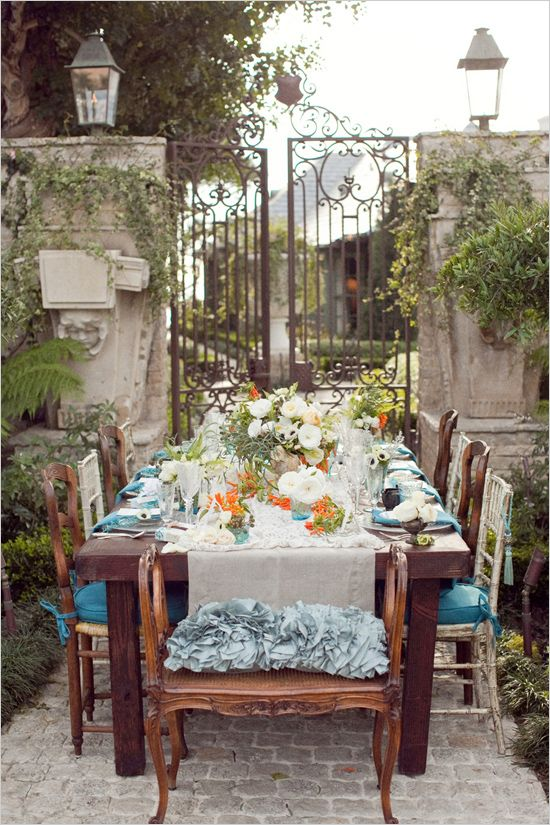 Brooke Keegan Weddings And Events tablescape idea