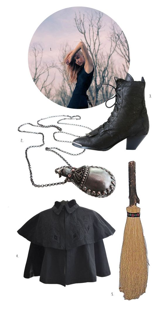 Witchy woman costume ideas.