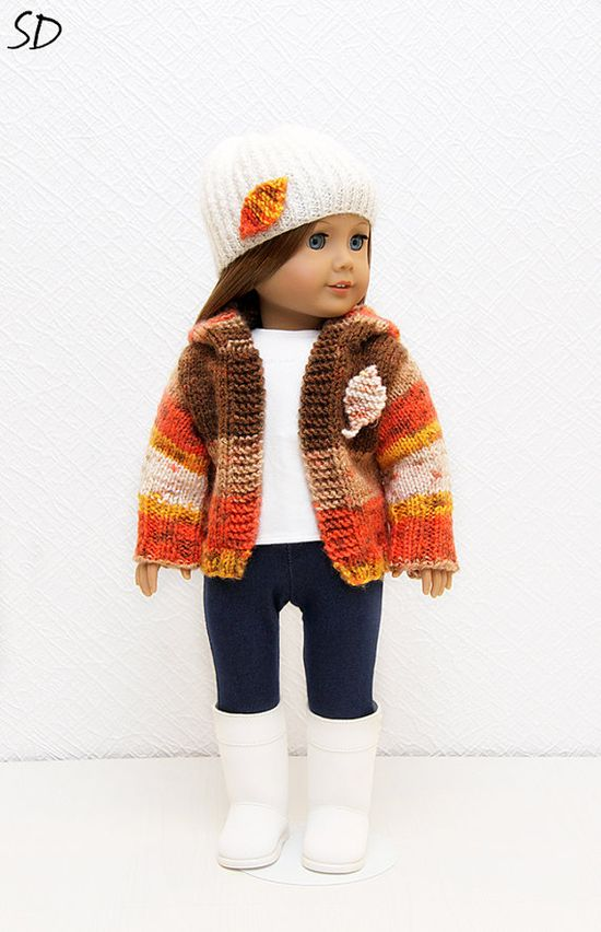 Autumn Leaves Outfit for American Girl by StassyDodge on Etsy, $25.00