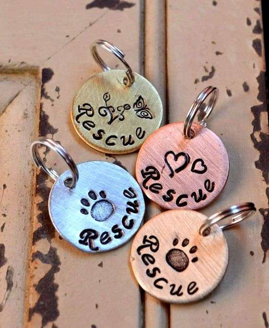Rescue Pet Tag 100% of these funds are being donated to Rescue! by FetchAPassionTags, $4.00