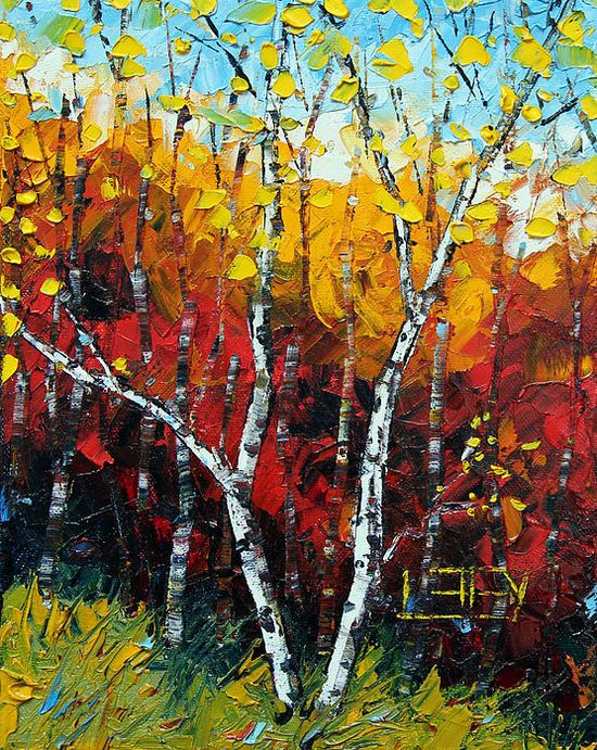 #palette knife painting #art #abstract