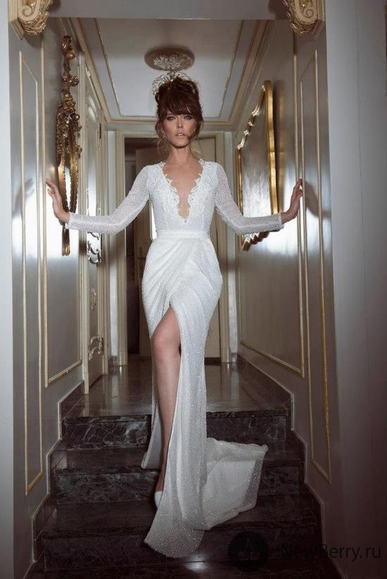 Yaki Ravid 2013-Gorgeous wedding dress option for the unconventional bride!  #wedding #fashion