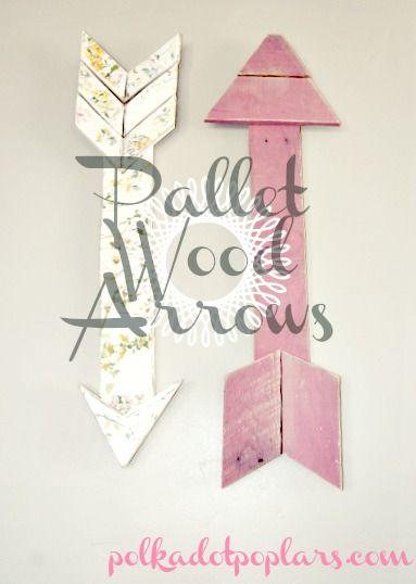 Pallet Wood Arrows