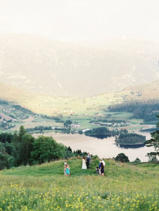 Destination Wedding Photography in Norway by Erich McVey