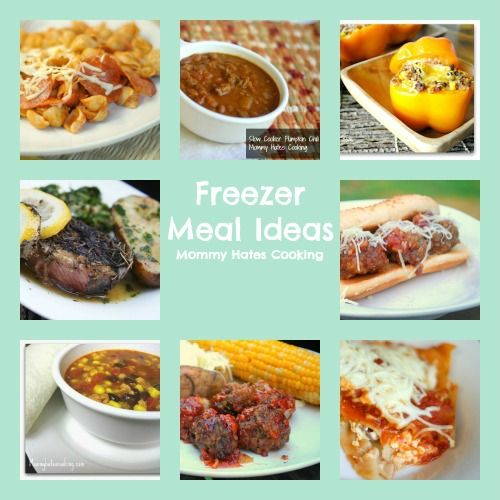 Preparing for Baby:  Freezer Meal Ideas