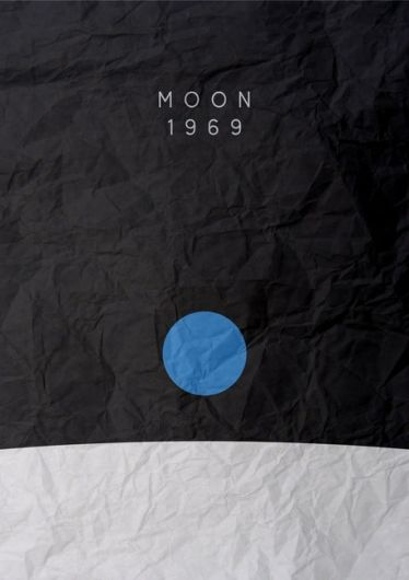 Moon - #graphic #poster