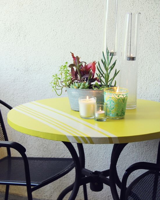DIY Patio Table #diy