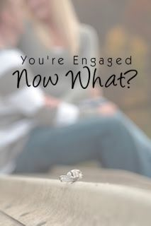 "You're engaged - Now what?  What to do once you say ""I will!"" - 10 easy steps."
