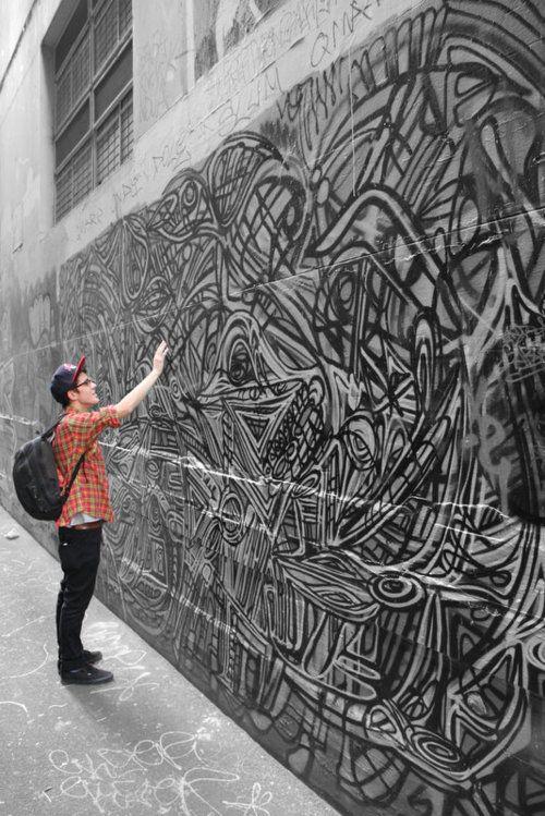 amazing graffiti #streetart #graffiti #art