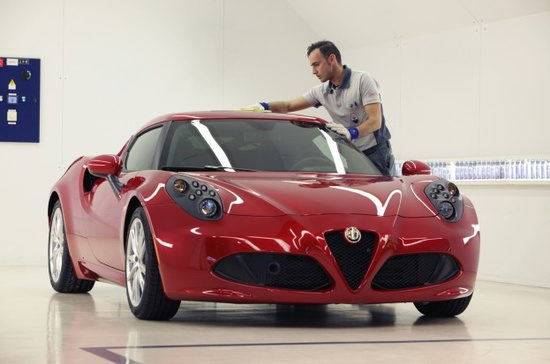 Watch the Alfa Romeo 4C Get Built and Tested (W/ Video) - WOT on Motor Trend