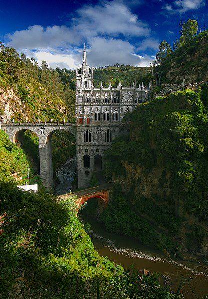 Las Lajas Sanctuary. Nariño, Colombia