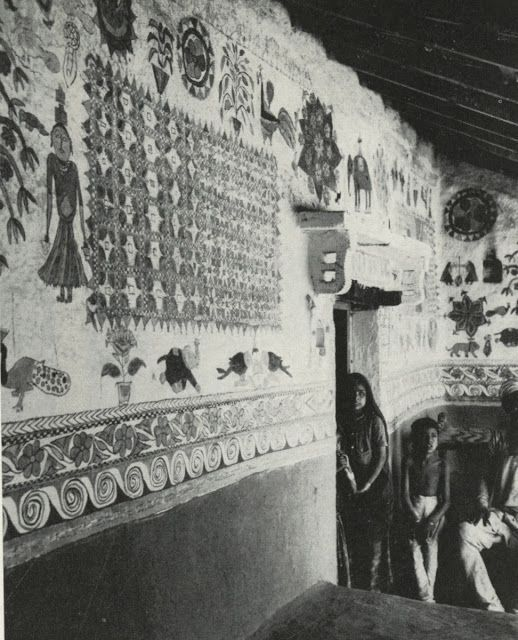 """Ritual Wall and Floor Decoration in India"""" by Oppi Untracht"""