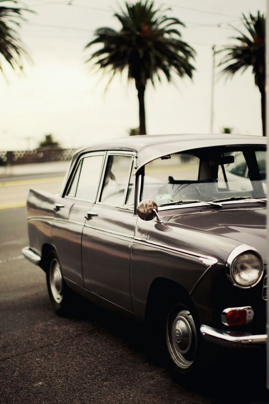 vintage, car