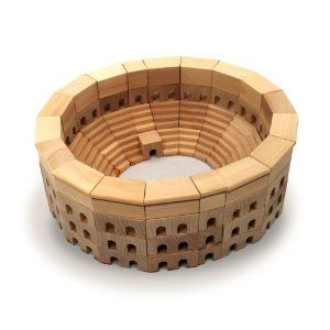 Block Colloseum - for the well-traveled wee ones.