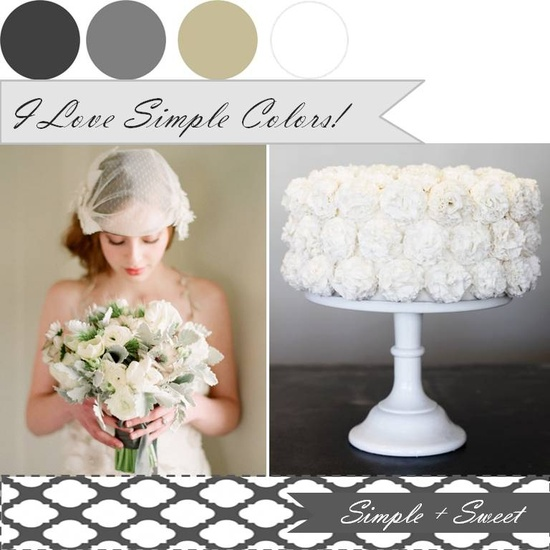 {Simple + Sweet}: I love simple color xo