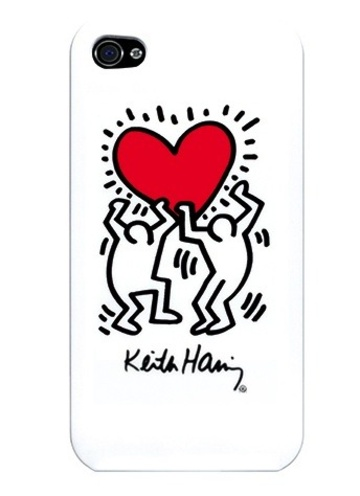 Keith Haring Heart...want this phone case!
