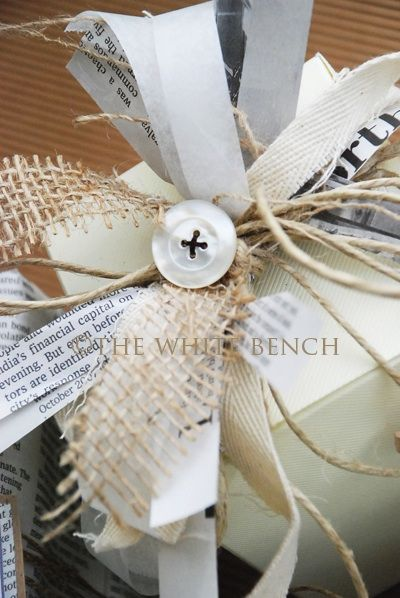 Gift Wrapping Ideas and How-To...
