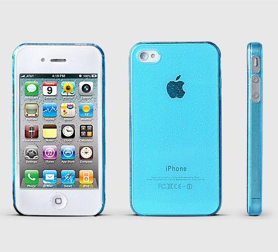 Fluorescent Powder Apple Logo iPhone 4 Case