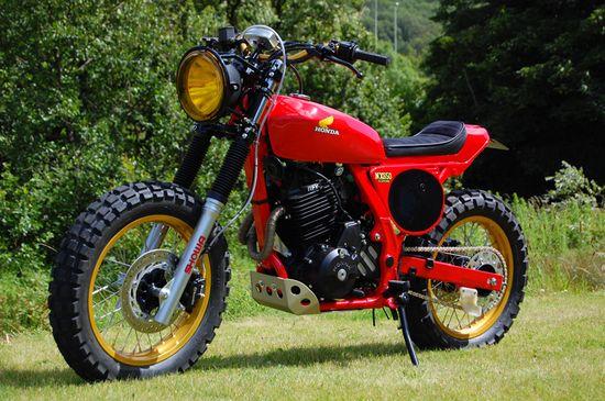1997 Honda NX650Dominator - Pipeburn - Purveyors of Classic Motorcycles, Cafe Racers & Custom motorbikes